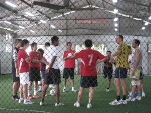 Futsal Session 2008