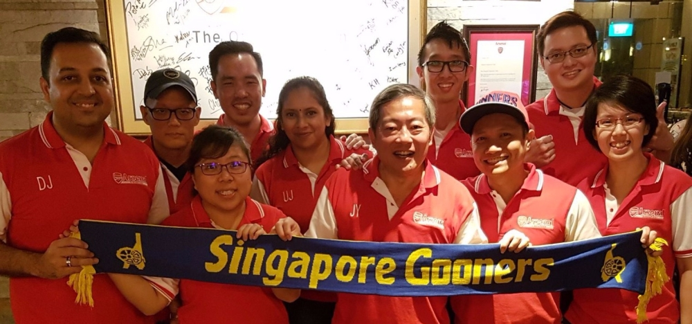 Arsenal Singapore Ex-Co 2017/2018