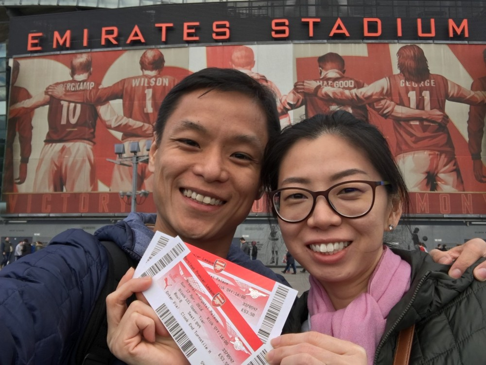 Arsenal singapore official arsenal supporters club for Emirates stadium mural